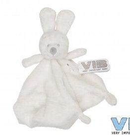 VERY IMPORTANT BABY Knuffeldoekje Konijn Wit