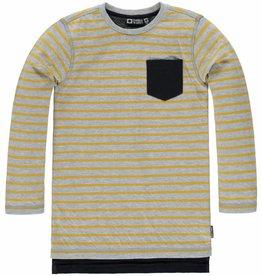 Tumble 'n Dry Shirt Bartin grijs/geel melange