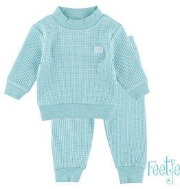 Feetje Feetje Kinder pyjama groen melee