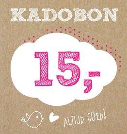 Bo en Belle Kadobon 15 euro
