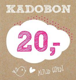 Bo en Belle Kadobon 20 euro