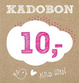 Bo en Belle Kadobon 10 euro