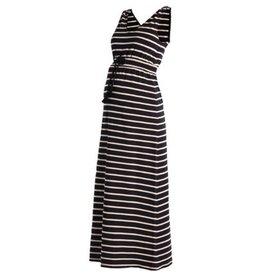 Noppies Mum Maxi jurk Mila zwart