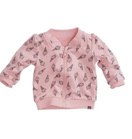 "Z8 Vest Smikkel soft pink ""reversable"""