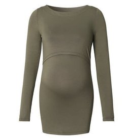 Noppies Maternity Voedingsshirt Hanna army green