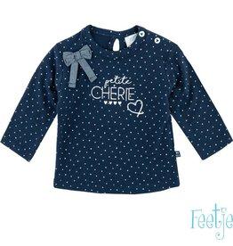 Feetje Shirt 'Petite Cherie' marine
