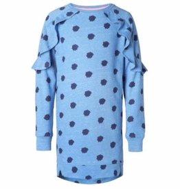 NOP Sweat jurk 'Ottawa' blue