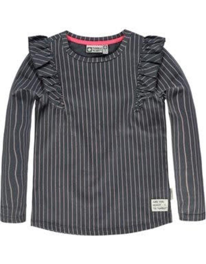 74a8daf6ebd Shirtje Lange mouw 'Danica ' india ink Tumble n Dry. 4070100761 - Bo ...