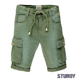 Sturdy Bermuda short 'Army'