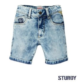Sturdy Bermuda short 'Light denim'