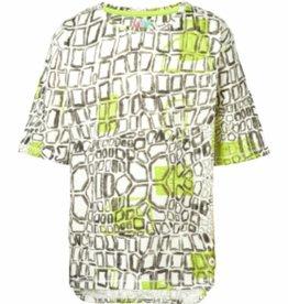 NOP T-shirt 'Lynden' off white