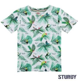 Sturdy T-shirt 'Island' tropical