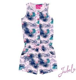 Jubel Jumpsuit kort 'Tropic Exotic' pink
