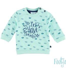 Feetje Sweater  Adventure L Groen