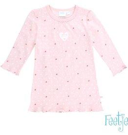 Feetje Nachtjapon 'Smile' roze