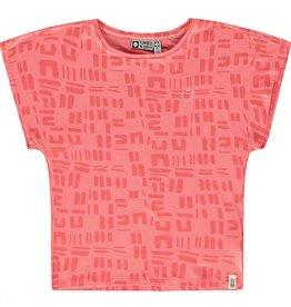 Tumble 'n Dry T-shirt 'Danellia' sugar coral