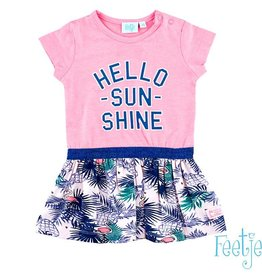 Feetje Feetje Jurk Hello sunshine pink