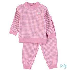 Feetje Kinder pyjama roze melange