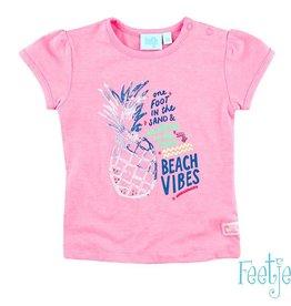 Feetje T-shirt 'Beach Vibes' tropic pink