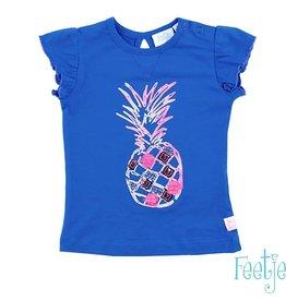 Feetje T-shirt 'Ananas' exotic blauw