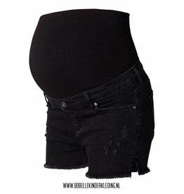 Noppies Maternity Positie short kort zwart loose fit