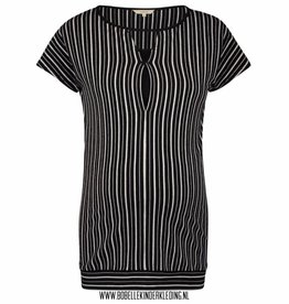 Noppies Maternity Voedingsshirt 'Baukje' black striped