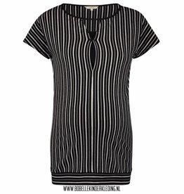 Noppies Mum Voedingsshirt 'Baukje' black striped