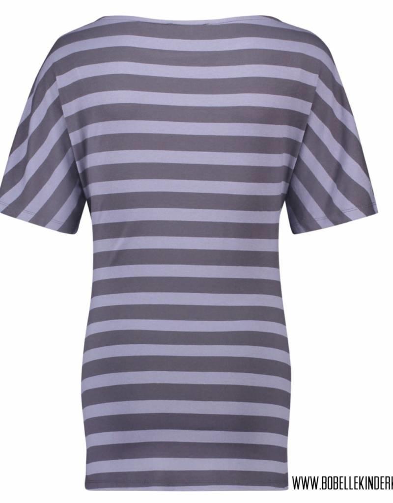 Supermom Voedingsshirt 'Alice' blue striped