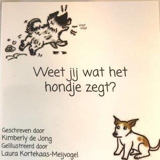 Weet jij wat het hondje zegt?