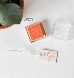 Inktpad abrikoos