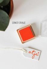 Inktpad donker oranje