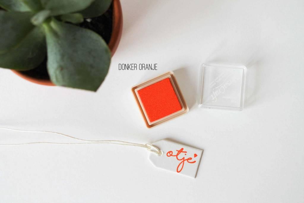 Inktpad donker oranje - 112
