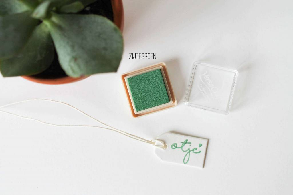 Inktpad zijdegroen - 160