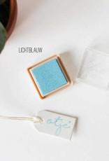 Inktpad lichtblauw
