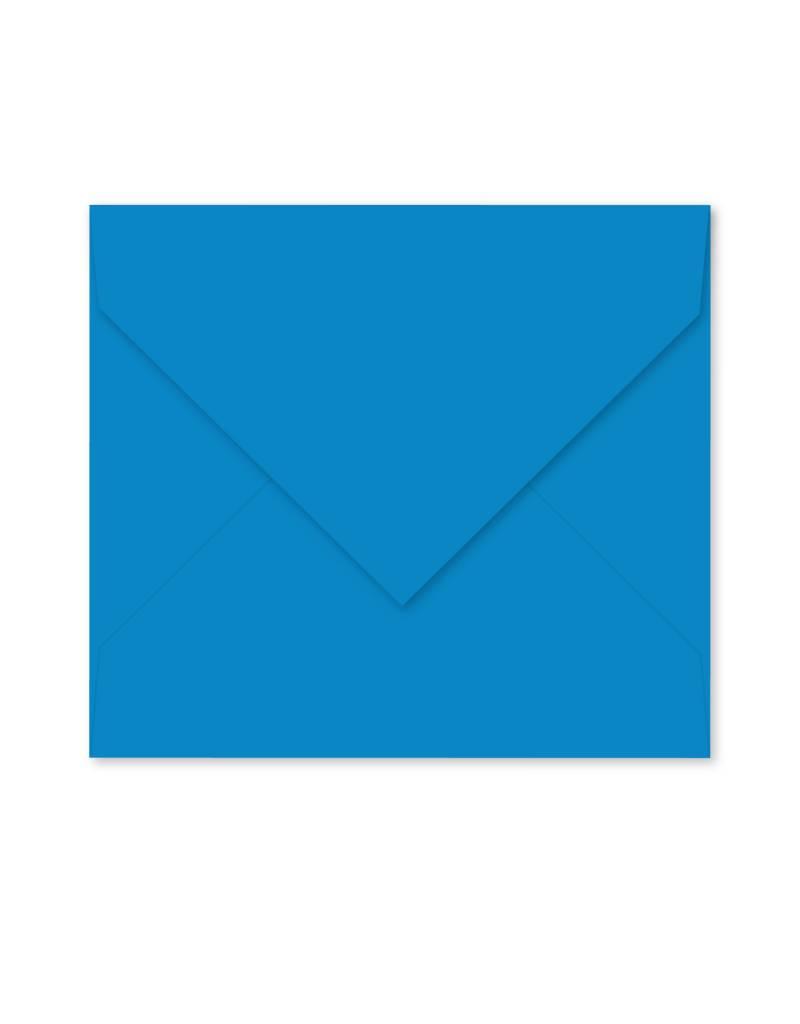 Enveloppe azuurblauw