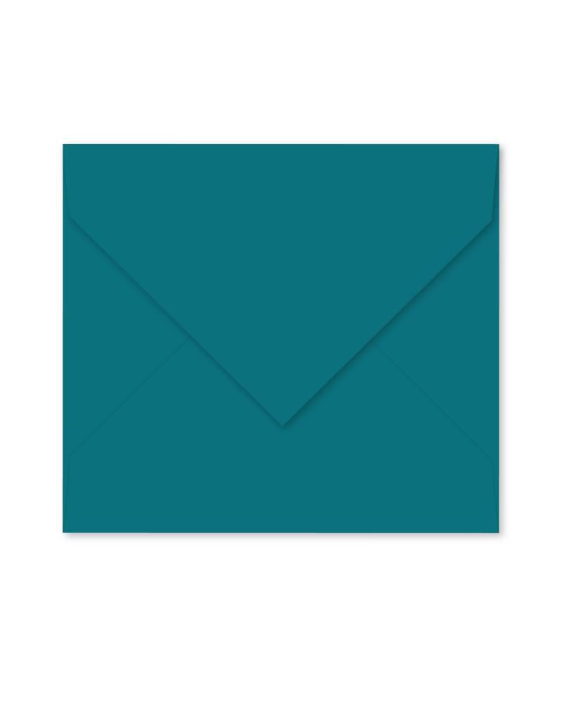 Enveloppe donker cyaan