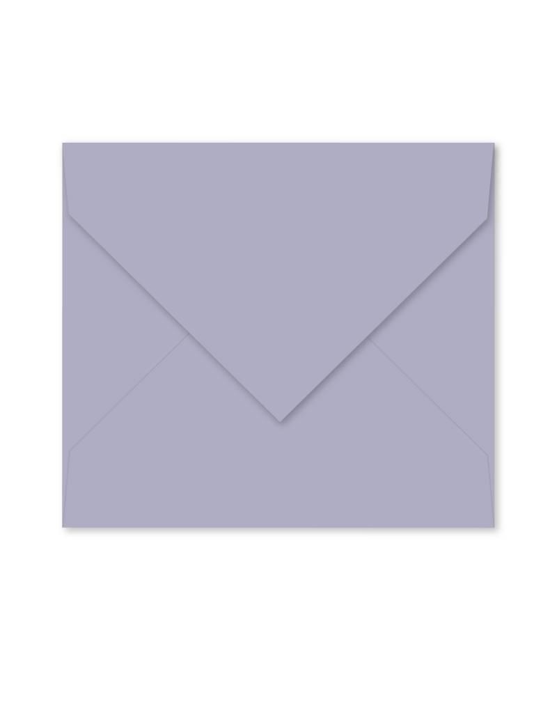 Enveloppe lichtblauw-paars
