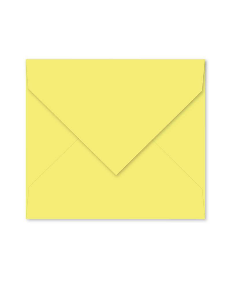 Enveloppe lichtgeel