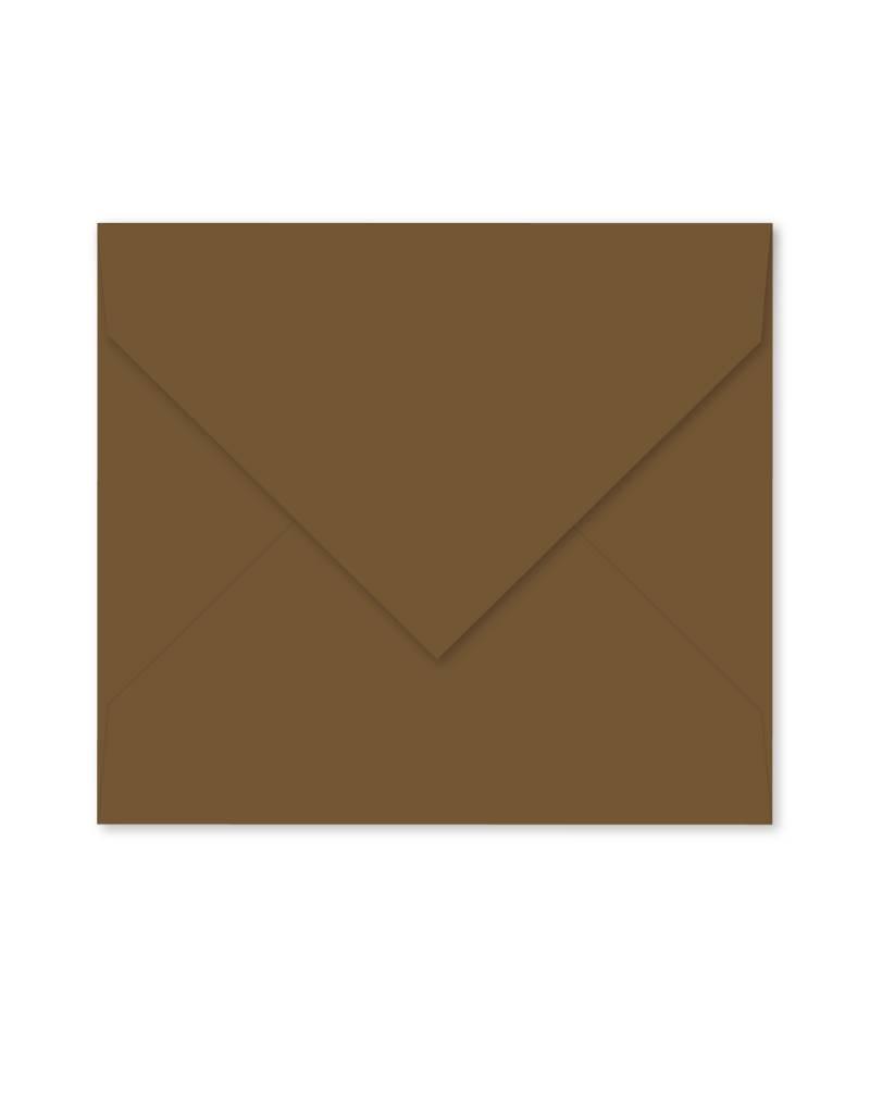 Enveloppe notebruin
