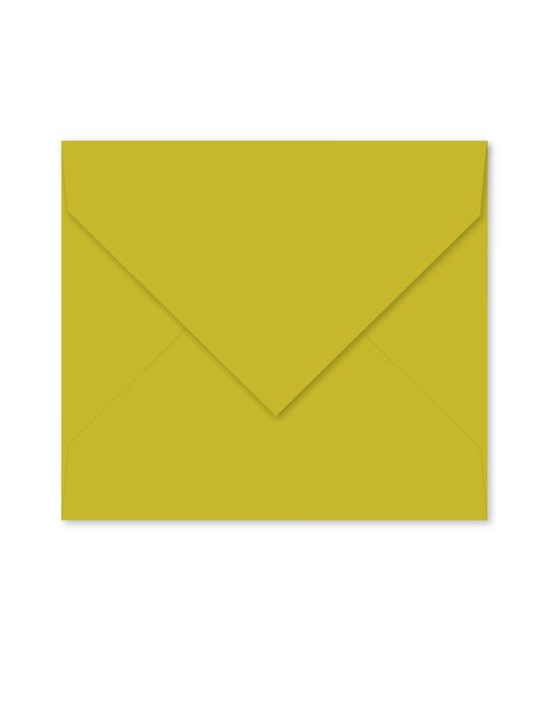 Enveloppe olijfgroen