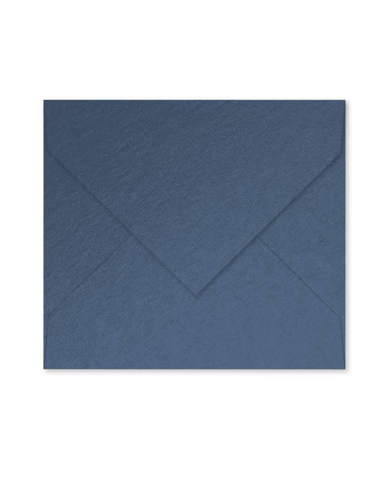 Enveloppe parelmoer blauw