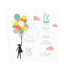 Geboortekaartje Fie