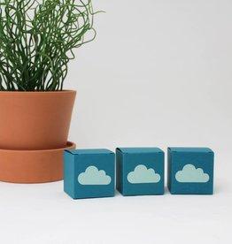 Wolkensticker mint
