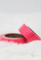 washi fluo roze