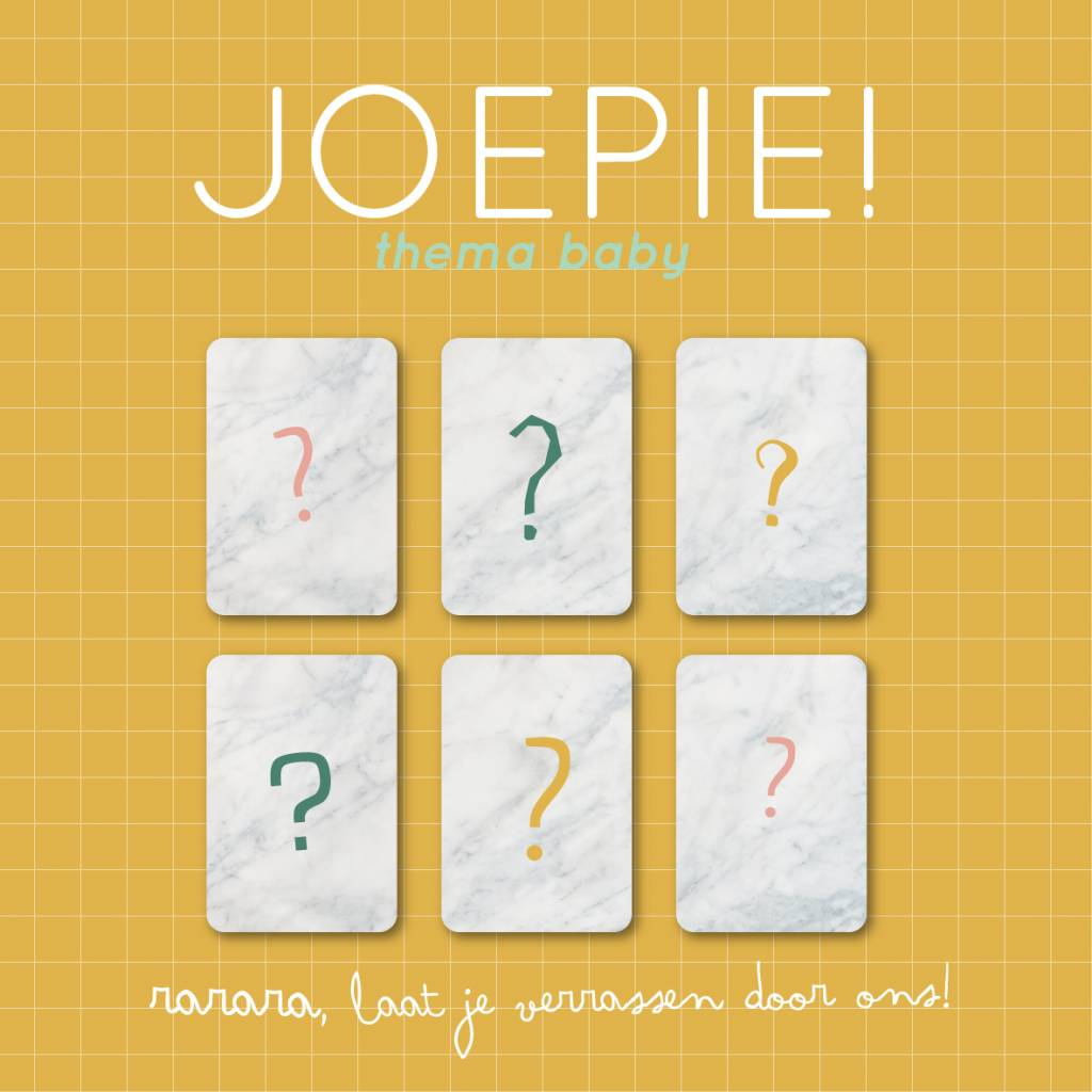 Pakket Joepie - thema baby