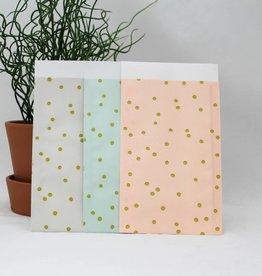 Papieren zakje patroon