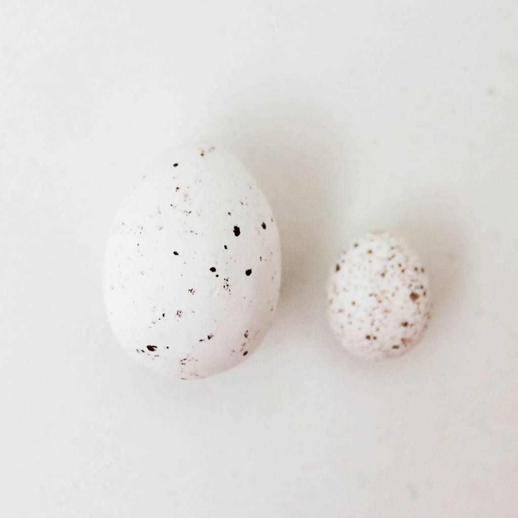 Chocolade eitjes wit