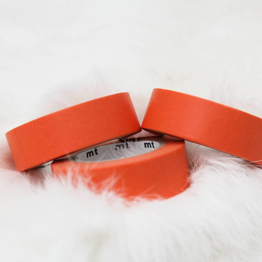 Washi oranjerood