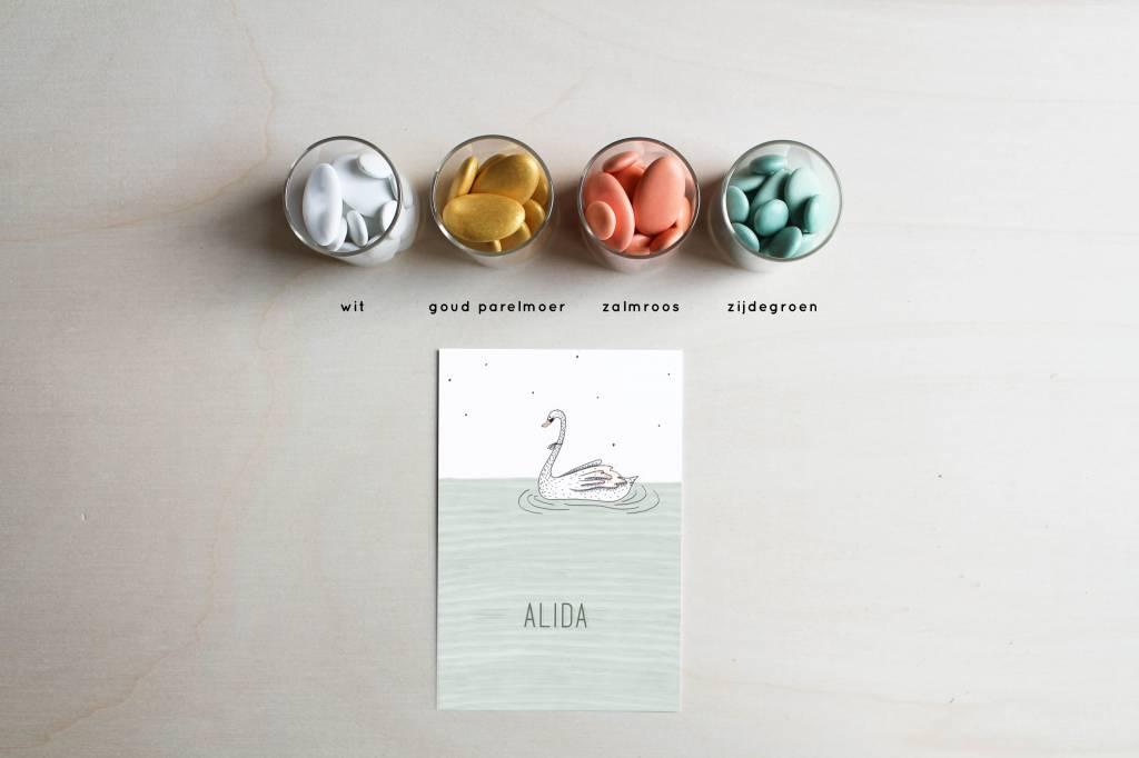 Geboortekaartje Alida