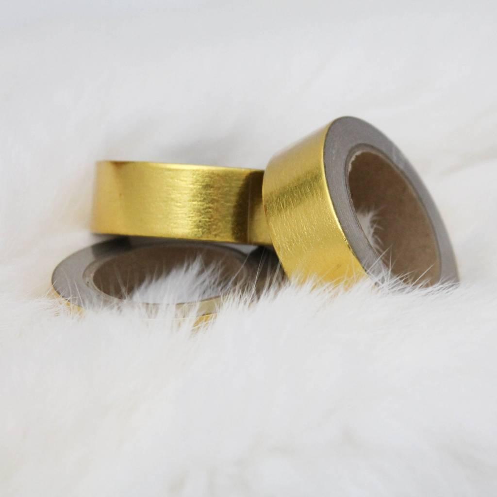 Washi goud blinkend